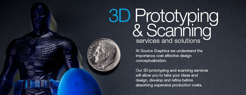 3D Prototyping & Scanning