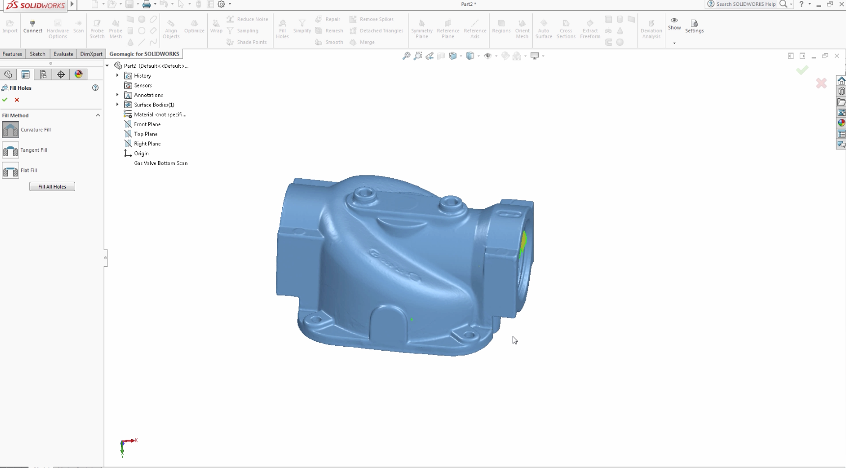 Source Graphics :: Geomagic for SOLIDWORKS