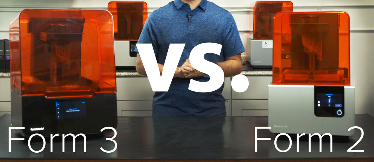 Formlabs Form 3 vs. Form 2 Thumbnail