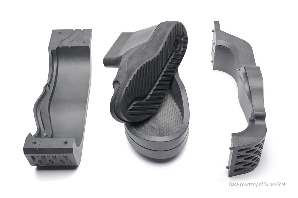 Printed Shoe Mold