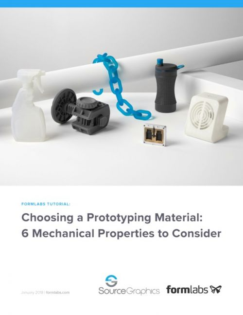 Formlabs Choosing a Prototyping Material: 6 Mechanical Properties to Consider