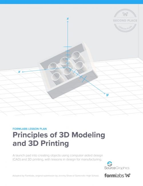 Formlabs 3D Modeling and Printing Lesson Plan